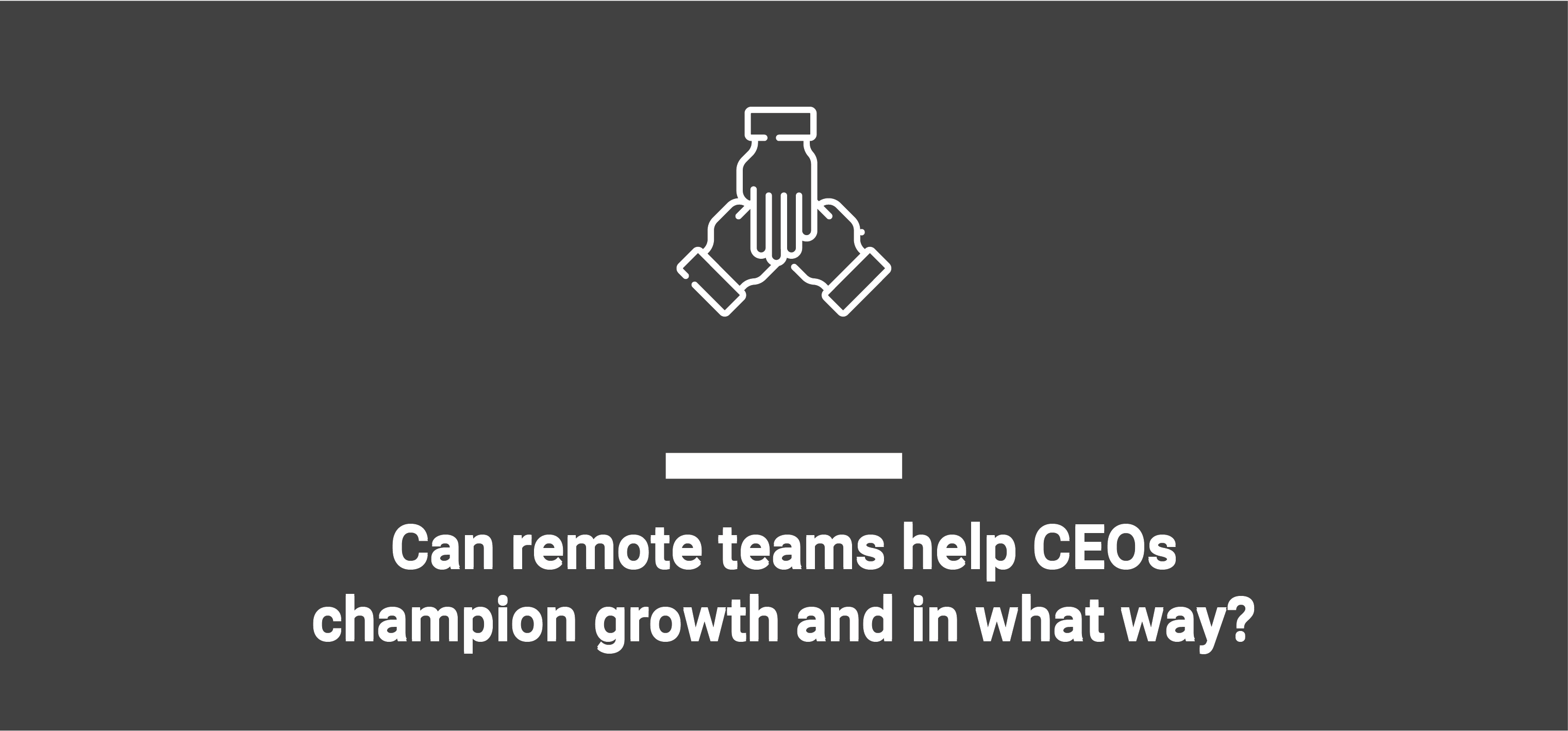 how remote teams help to business