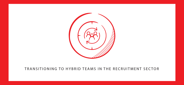 Transitioning to hybrid teams in the recruitment sector