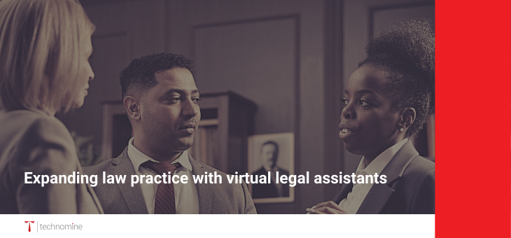 Expanding law practice with virtual legal assistants