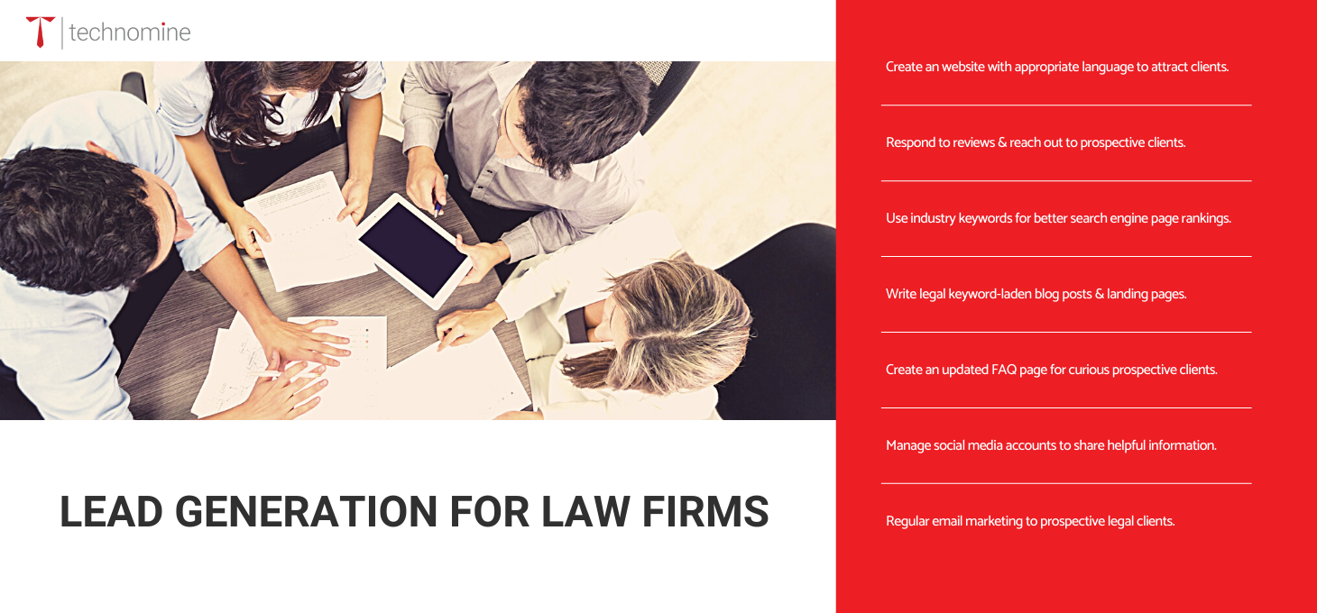 Ways to Generate More Leads for Your Law Firm