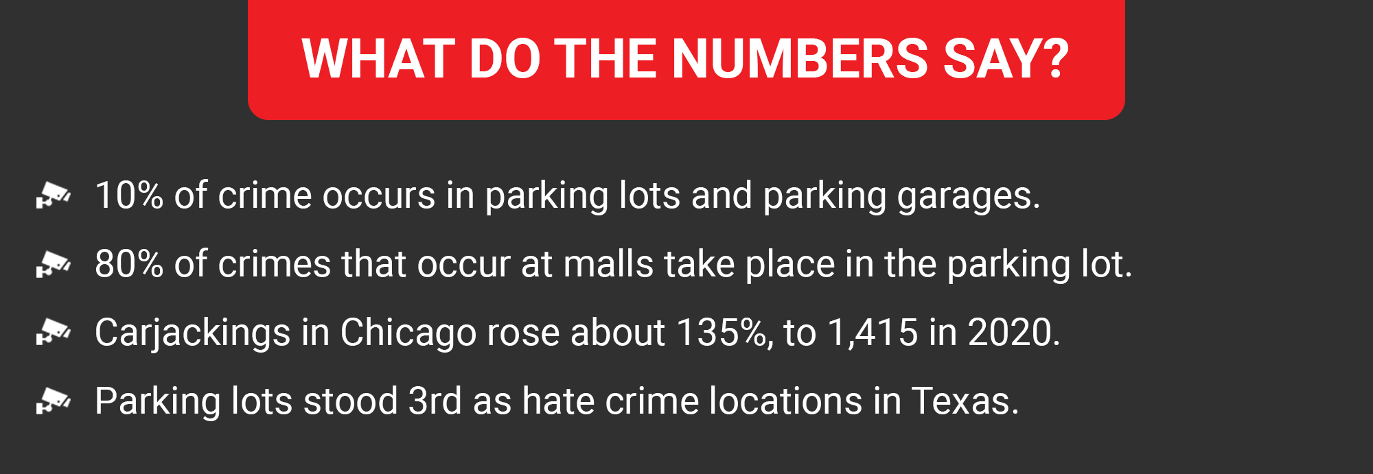 threats to vehicle security in parking lots